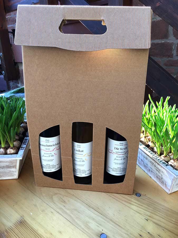 Weinpakete Kreationen